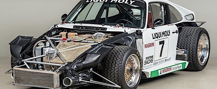 photo of Joest 1979 Porsche 935 Once Owned by Ecclestone Is a Race-Bred Pearl image