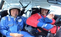 Tiff Needell and John Barrowman