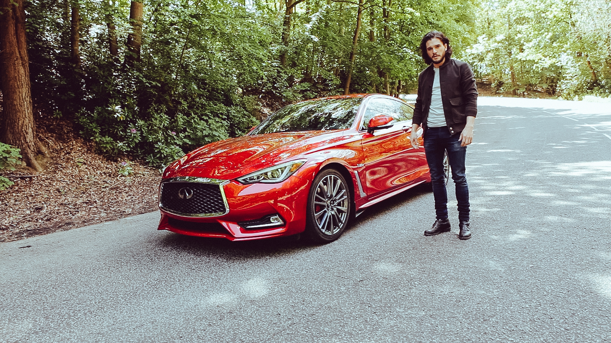 quotes the tyger in dramatic infiniti q60 commercial   autoevolution