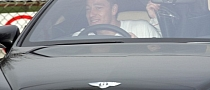John Terry Abandons Bentley in Traffic Jam