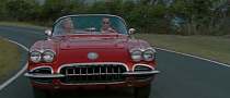 Johnny Depp Drives a 1959 Corvette in Rum Diary [Trailer Video]