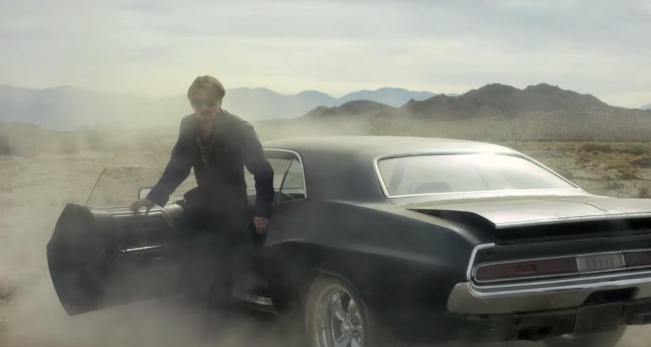 Sleepy Hollow Auto >> Johnny Depp Drives a Dodge Challenger in Dior Sauvage Perfume Ad – Video - autoevolution