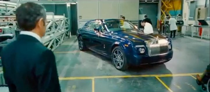 Johnny English Rolls Royce Phantom Coupe V16 Coming to Frankfurt