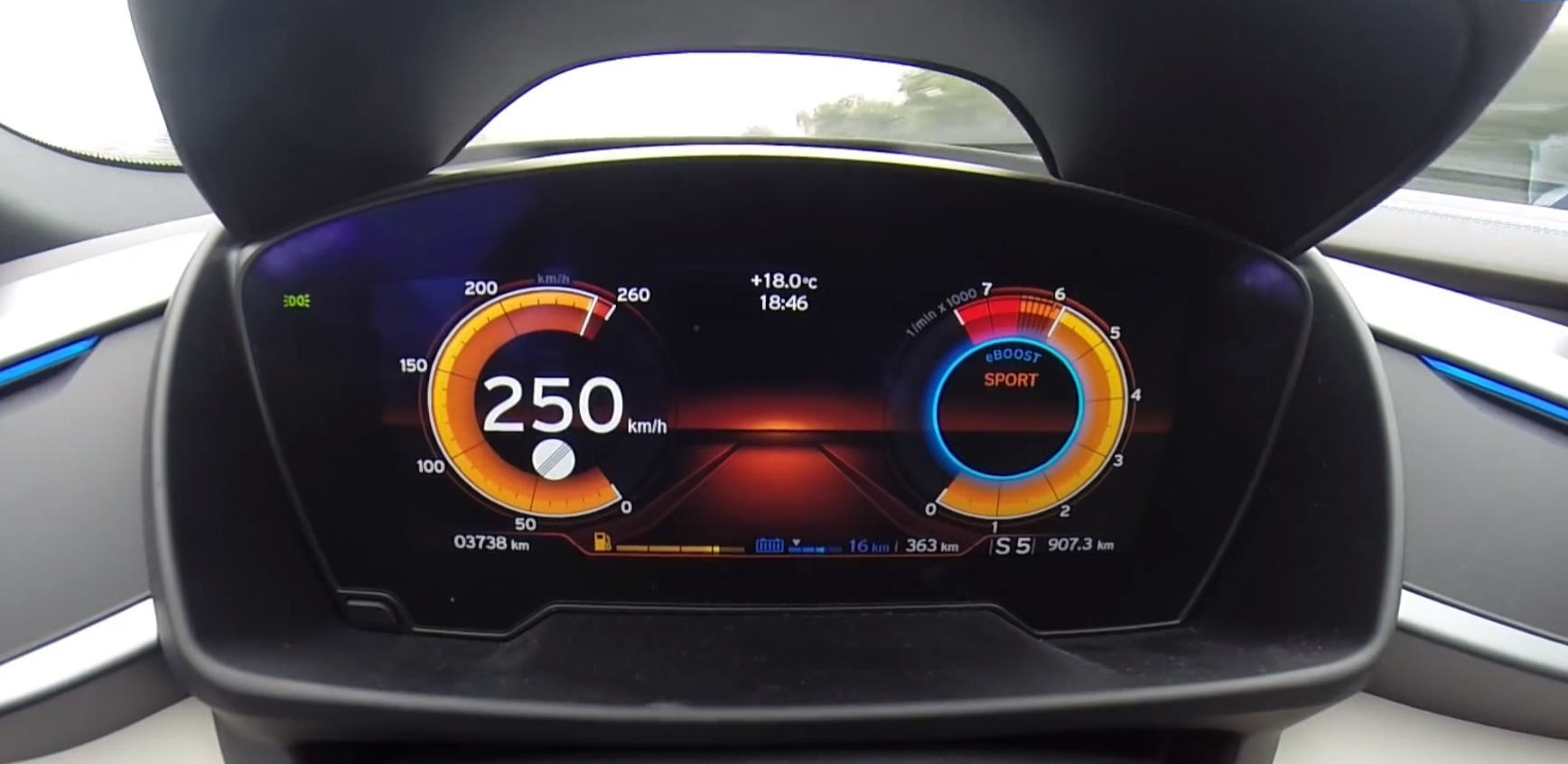 Join Us Behind The Wheel Of An I8 As It Reaches Top Speed