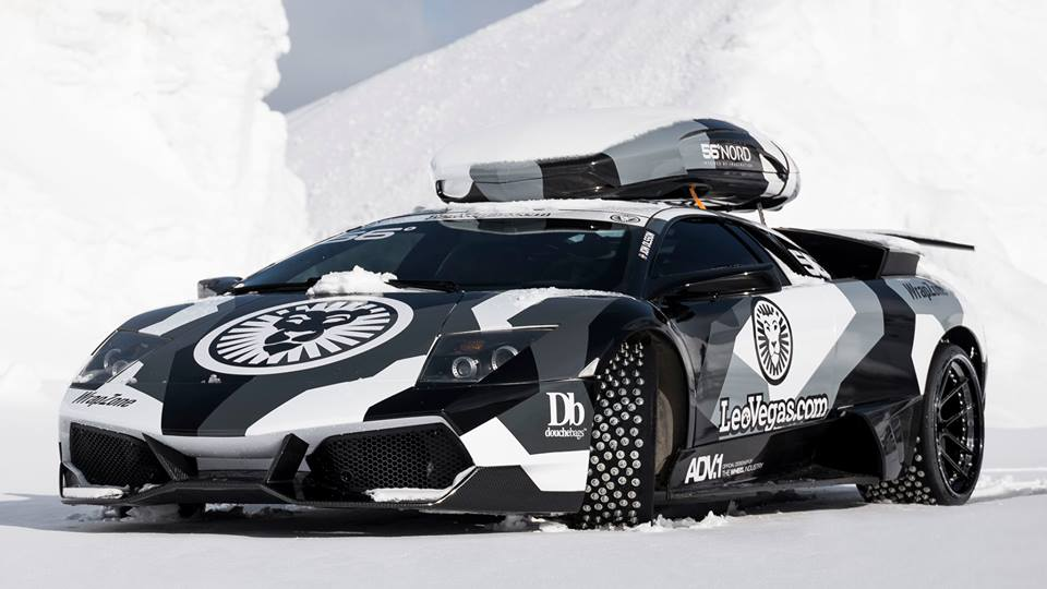 Jon Olsson To Drive His Lamborghini Murcielago To The Top