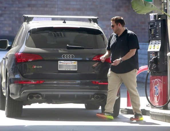 Jonah Hill Stays Faithful To His Audis Drives Sq5