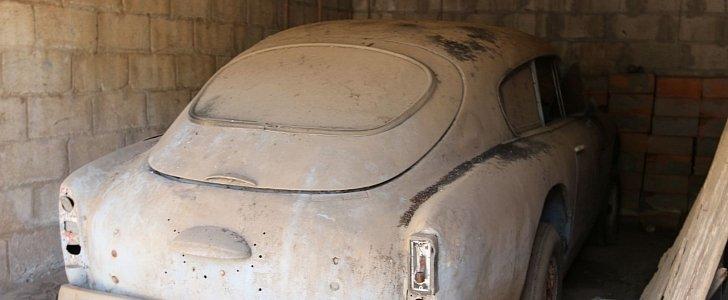 Jonathan Ward Finds Rare Aston Martin in a Shed in Cuba