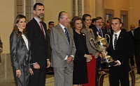 The Spanish royal family and Jorge Lorenzo