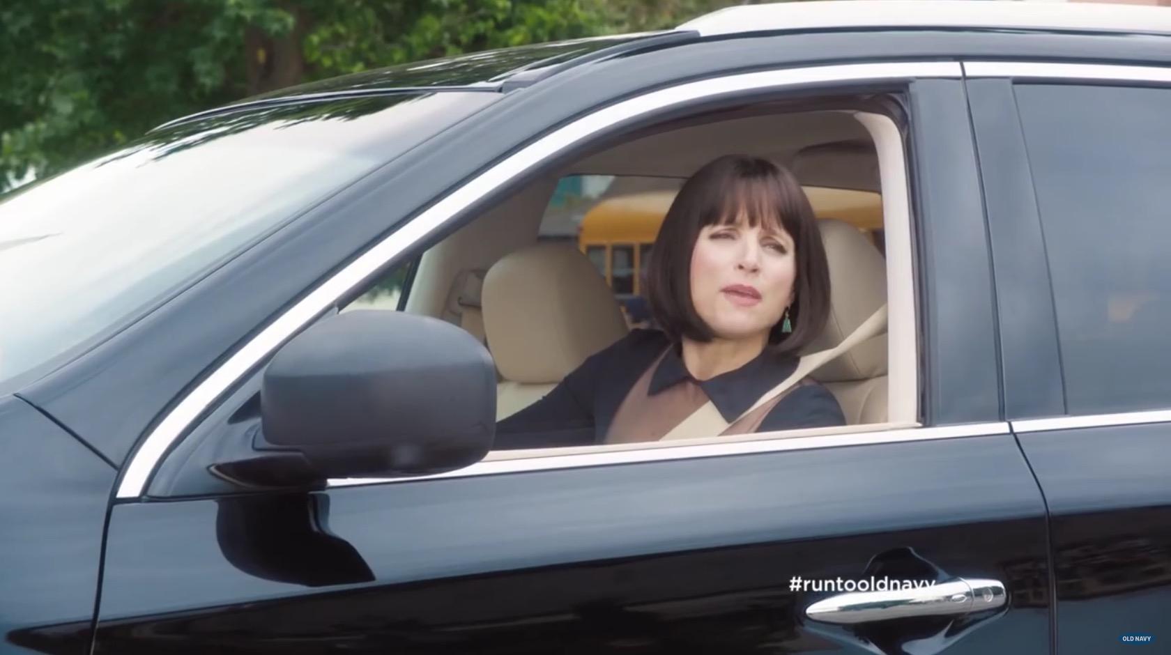 Julia Louis-Dreyfus Drives Infiniti QX60 SUV in Old Navy Kids ...