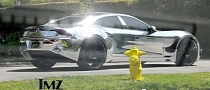 Justin Bieber and Selena Gomez in Chrome Fisker Karma [Video]