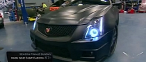 Justin Bieber Cadillac CTS-V Batmobile on Inside West Coast Customs [Video]
