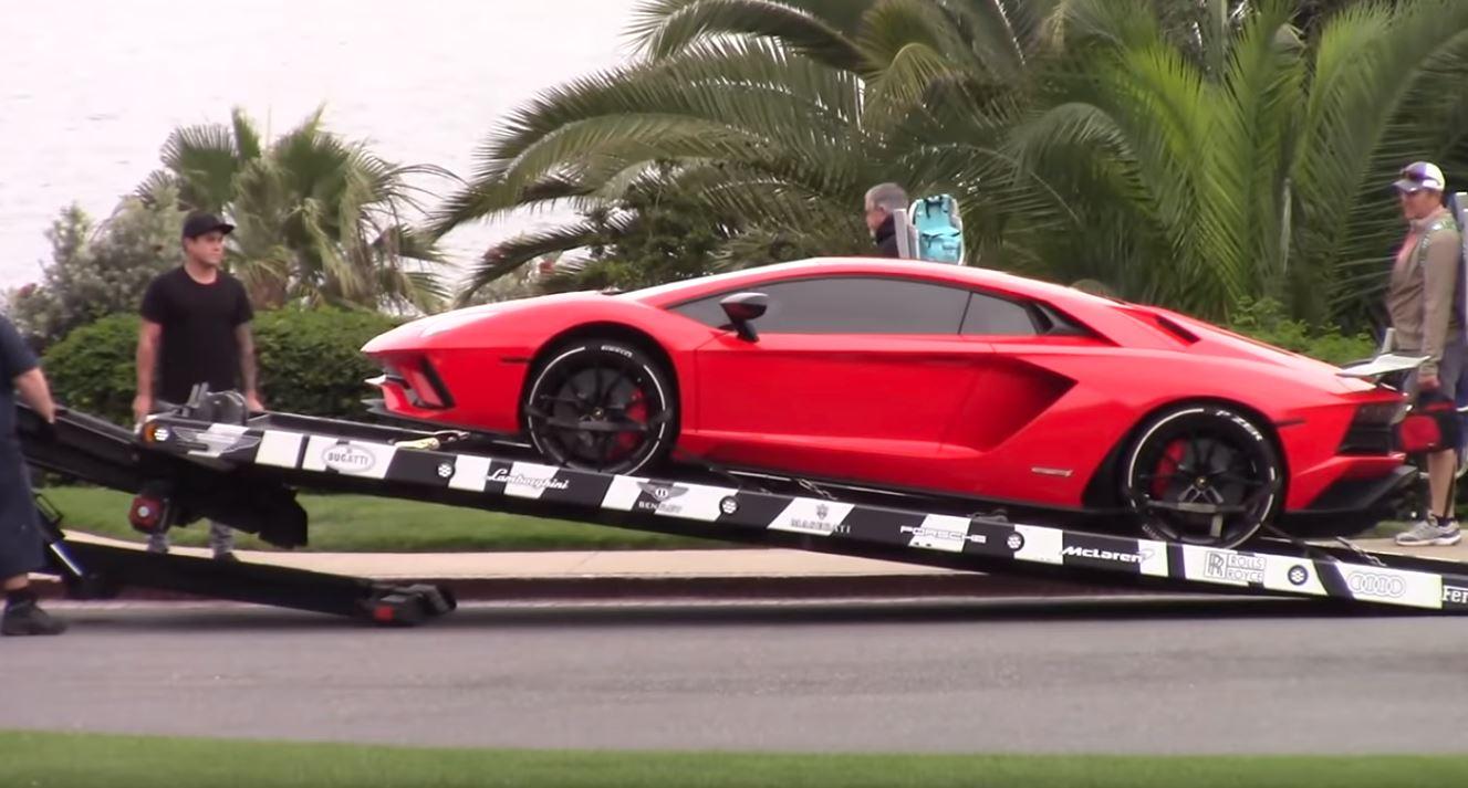 Justin Bieber Gets Brand New Red Lamborghini Aventador Autoevolution