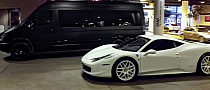 Justin Bieber Gets Pulled Over by Police in White Ferrari 458