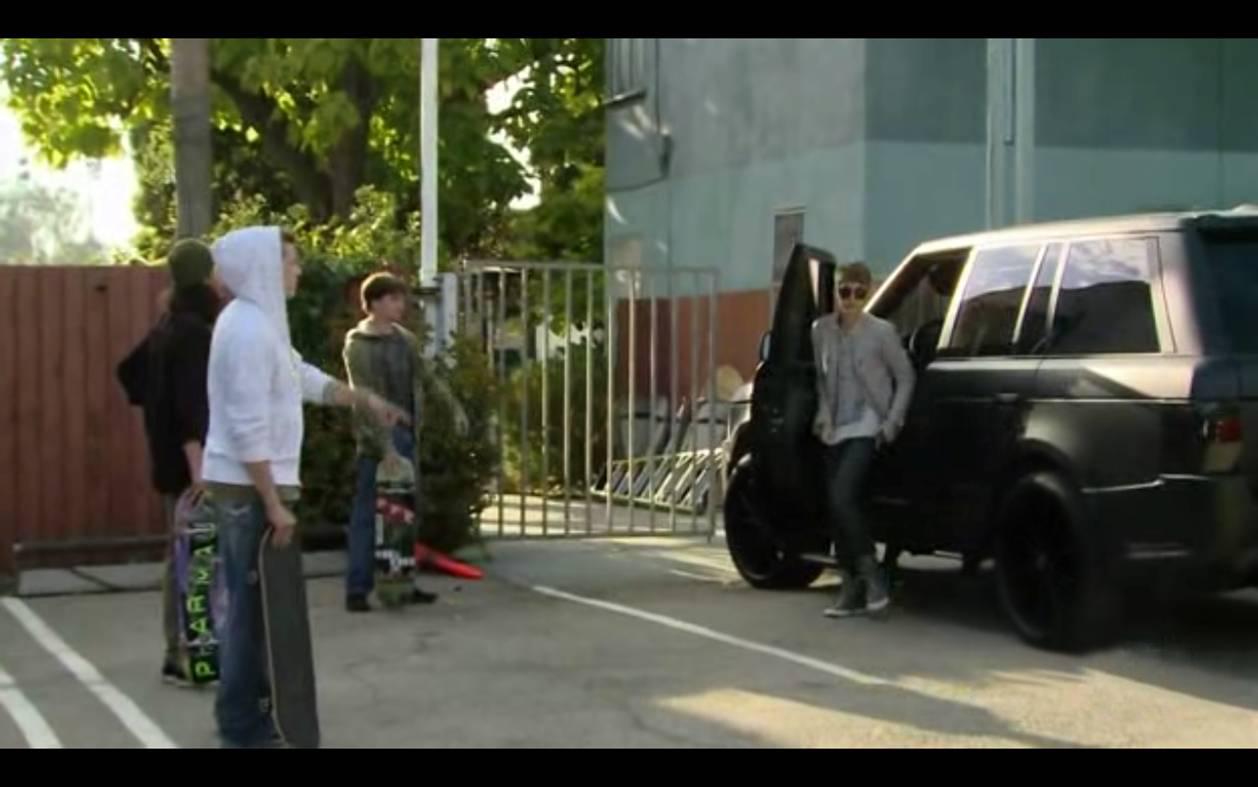 Justin Bieber in Kahn Range Rover - autoevolution