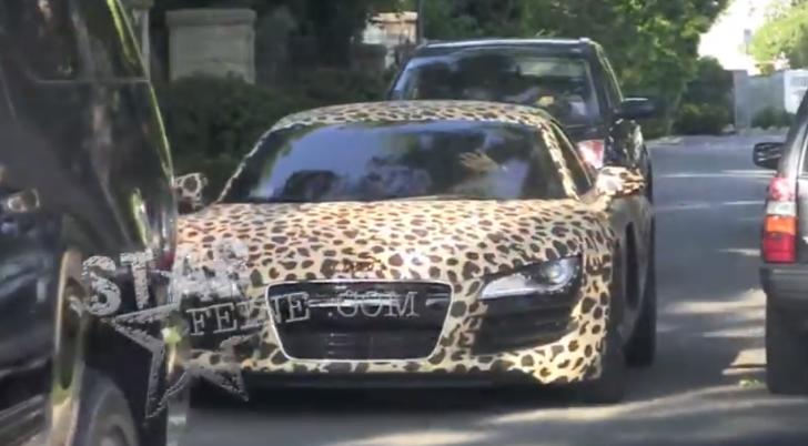 justin bieber audi leopard - photo #15