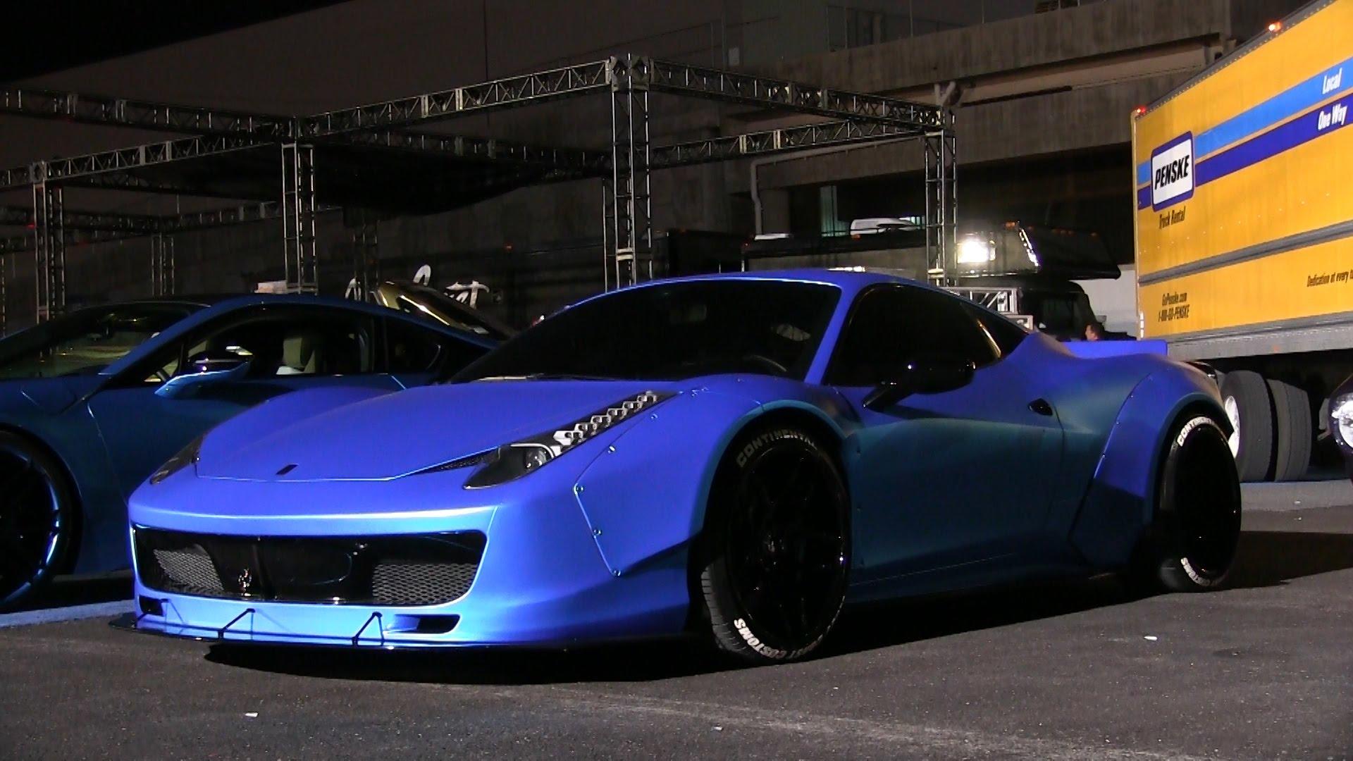 Ferrari 458 italia justin bieber