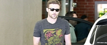 Justin Timberlake Seen in Audi Q7