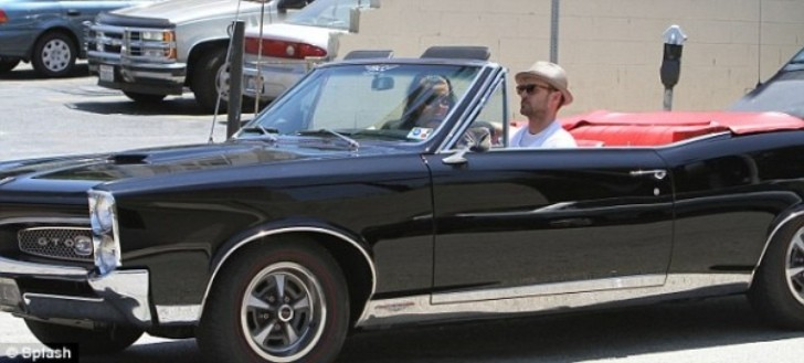 Justin Timberlake Spotted Cruising in His 1960s Pontiac GTO