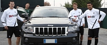 Juventus Players Now Drive Jeep Grand Cherokee SUVs