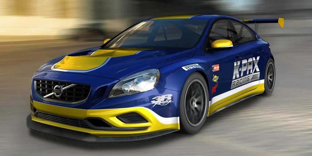 K Pax Racing Volvo S60 Racer Introduced Autoevolution