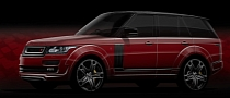 Kahn Design Previews 2013 Range Rover RS600 Styling Pack