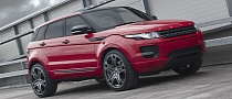 Kahn Red Range Rover Evoque