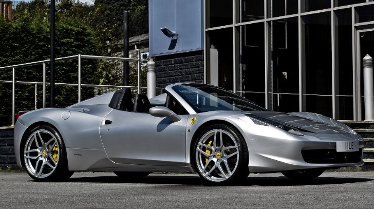 Kahn Ferrari 458 Spider Released