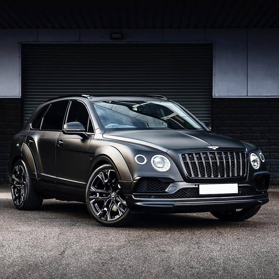 Bentley Bentayga: Kahn Gives Bentley Bentayga A Cool New Grille And Sinister