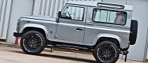 Kahn Land Rover Defender Concept 17 Teased