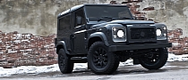 Kahn Land Rover Defender Military Edition with Wide Body Kit