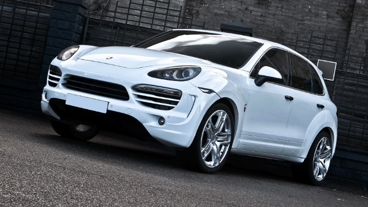Kahn Porsche Cayenne Supersport Wide Track Coming to Geneva [Photo Gallery]