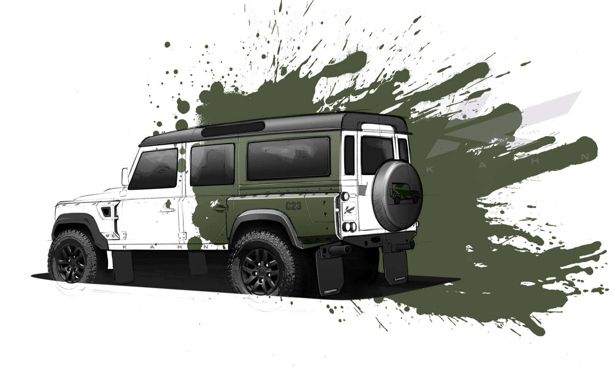 Kahn Teases Land Rover Defender Tuning Concept Autoevolution