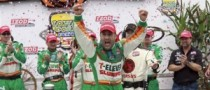 Kanaan Wins First Indy Race in 2 Years, at Iowa