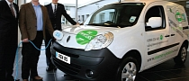 Kango Van Z.E. - First Renault EV Delivered in UK