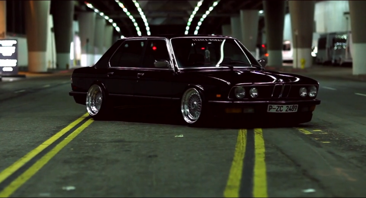 Kanye West + BMW E28 5 Series = Greatness [Video]