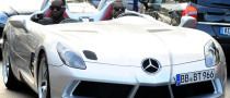 Kanye West Hits Cannes in Mercedes SLR Stirling Moss