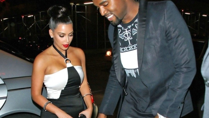 Kanye West Takes Kim Kardashian to Dinner in Maybach