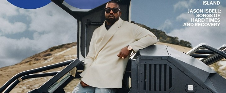 Kanye West S Awesome Fleet At Wyoming Ranch Includes Raptors Sherps And A Tank Autoevolution