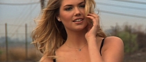 Kate Upton Washes Mercedes CLA in Sexy Slow Motion for Super Bowl [Video]
