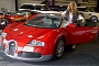 Katie Price Decides Pink Looks Better on Her Veyron
