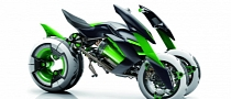 Kawasaki J Concept Has Variable Architecture [Photo Gallery][Video]