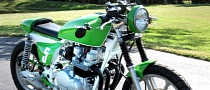 Kawasaki KZ750 Cafe-Racer - Green Is Forever