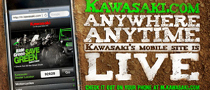 Kawasaki Launches Mobile Website
