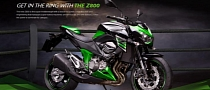 Kawasaki Launches New Z800 Microsite
