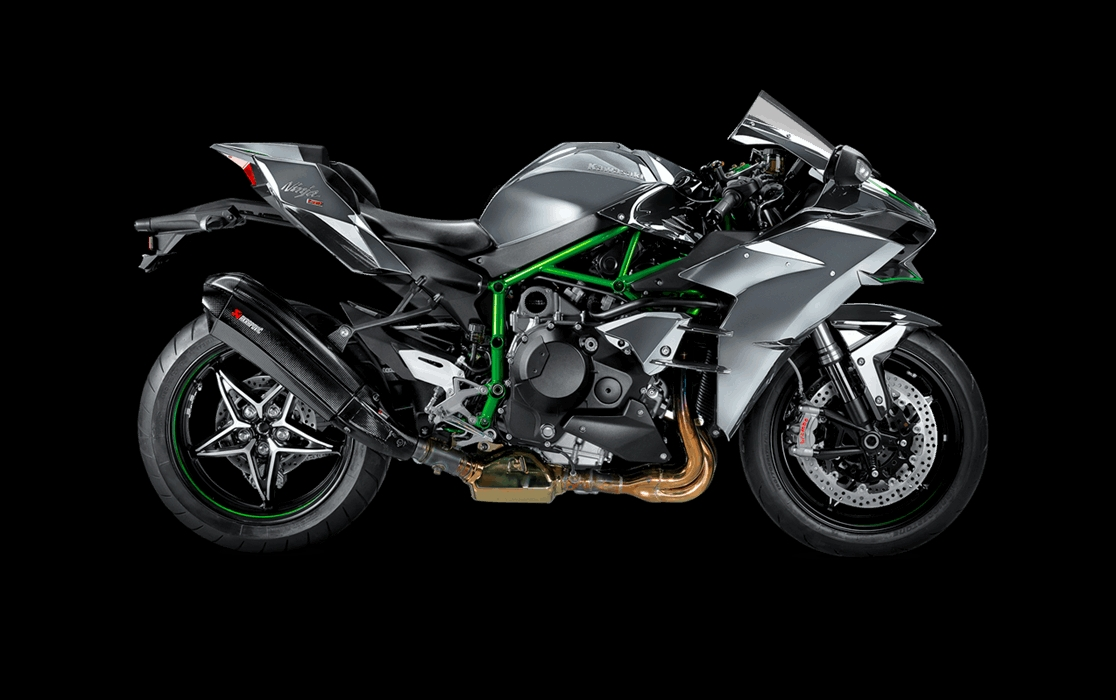 мотоцикл kawasaki h2r цена