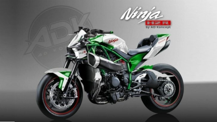 Kawasaki Ninja H2r Steetfighter By Ad Koncept Autoevolution