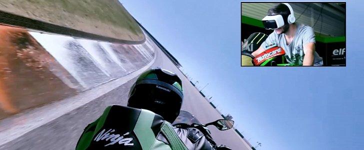 Kawasaki Reveals 3D Virtual Reality App - autoevolution