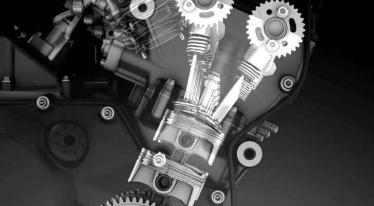 kawasaki shows robots and old engines instead of more ninja h2 Kawasaki Motorcycle Engines 3 photos