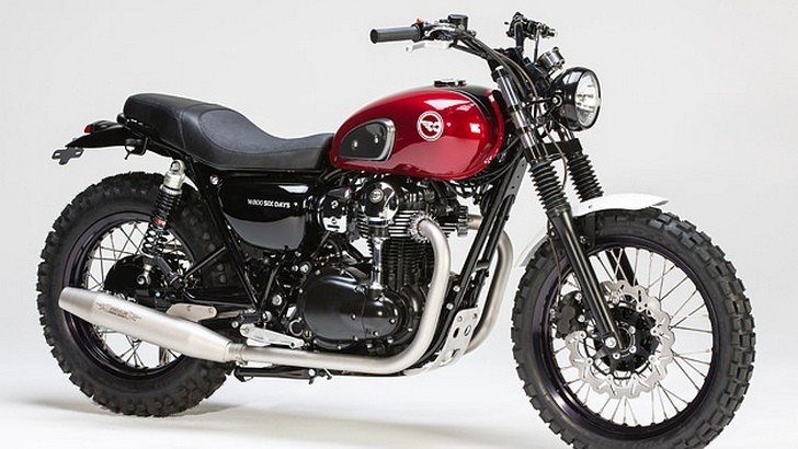 Kawasaki W 800 Custom Bike by LSL