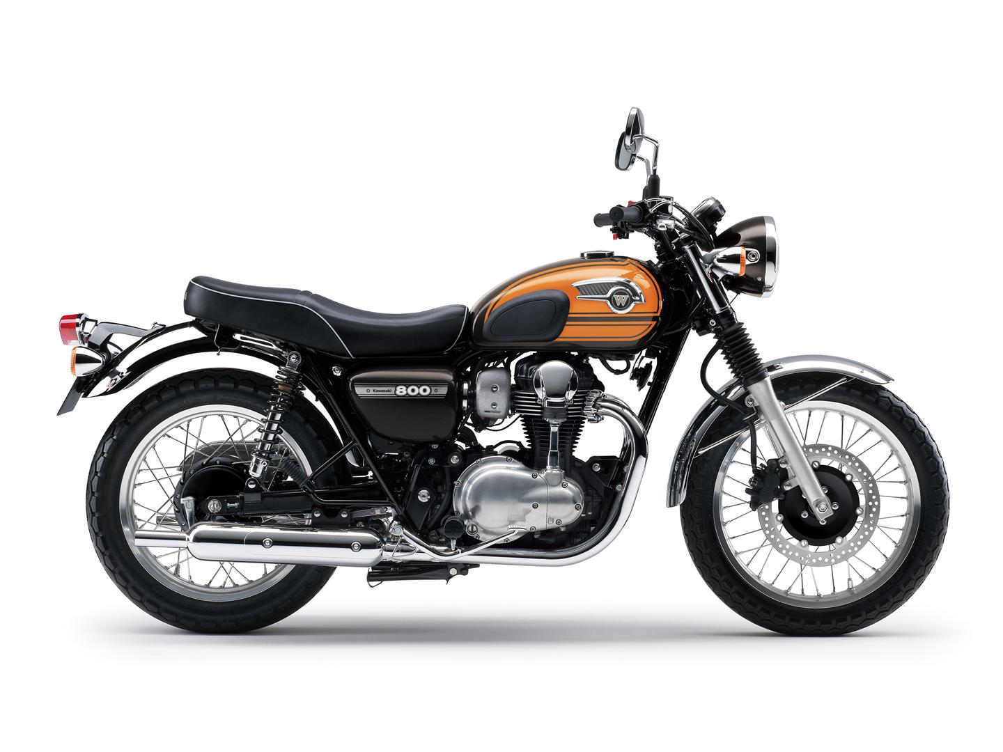 Kawasaki W800 Bids Farewell, Sacked by the Euro 4 Emission Standards